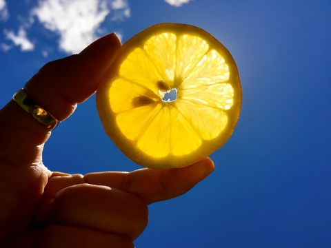 Glowing Lemon Slice