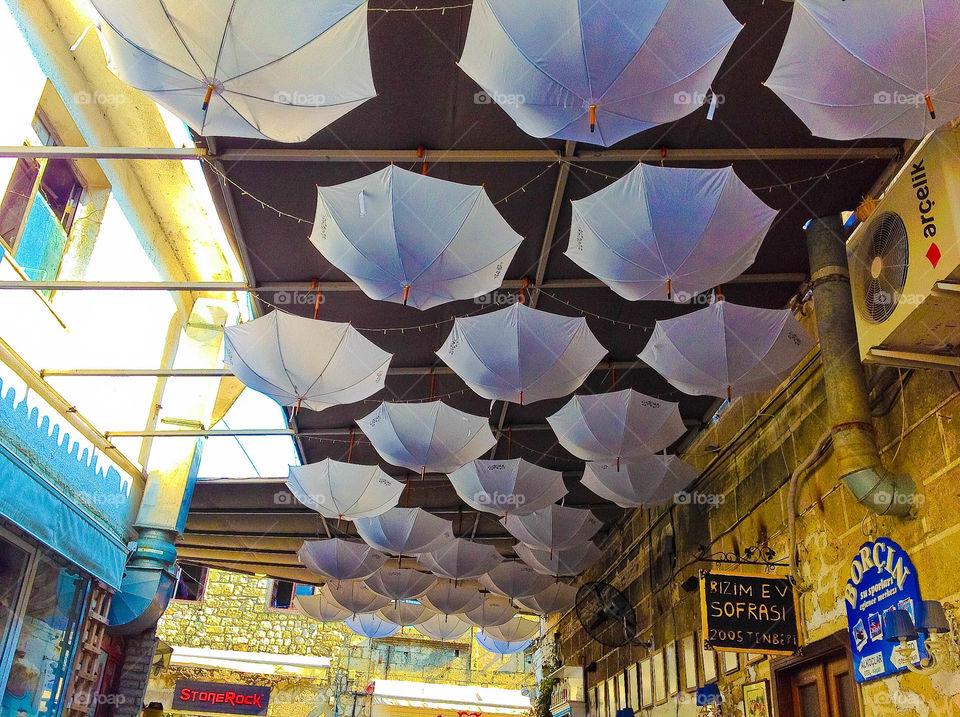 Umbrella decor