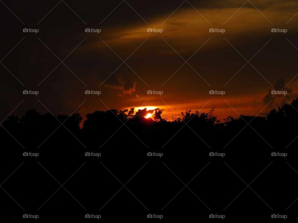 Sunset & storms