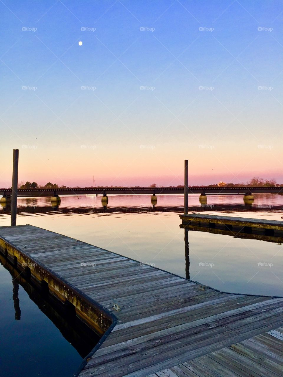 Lonely dock!   New Bern, NC
