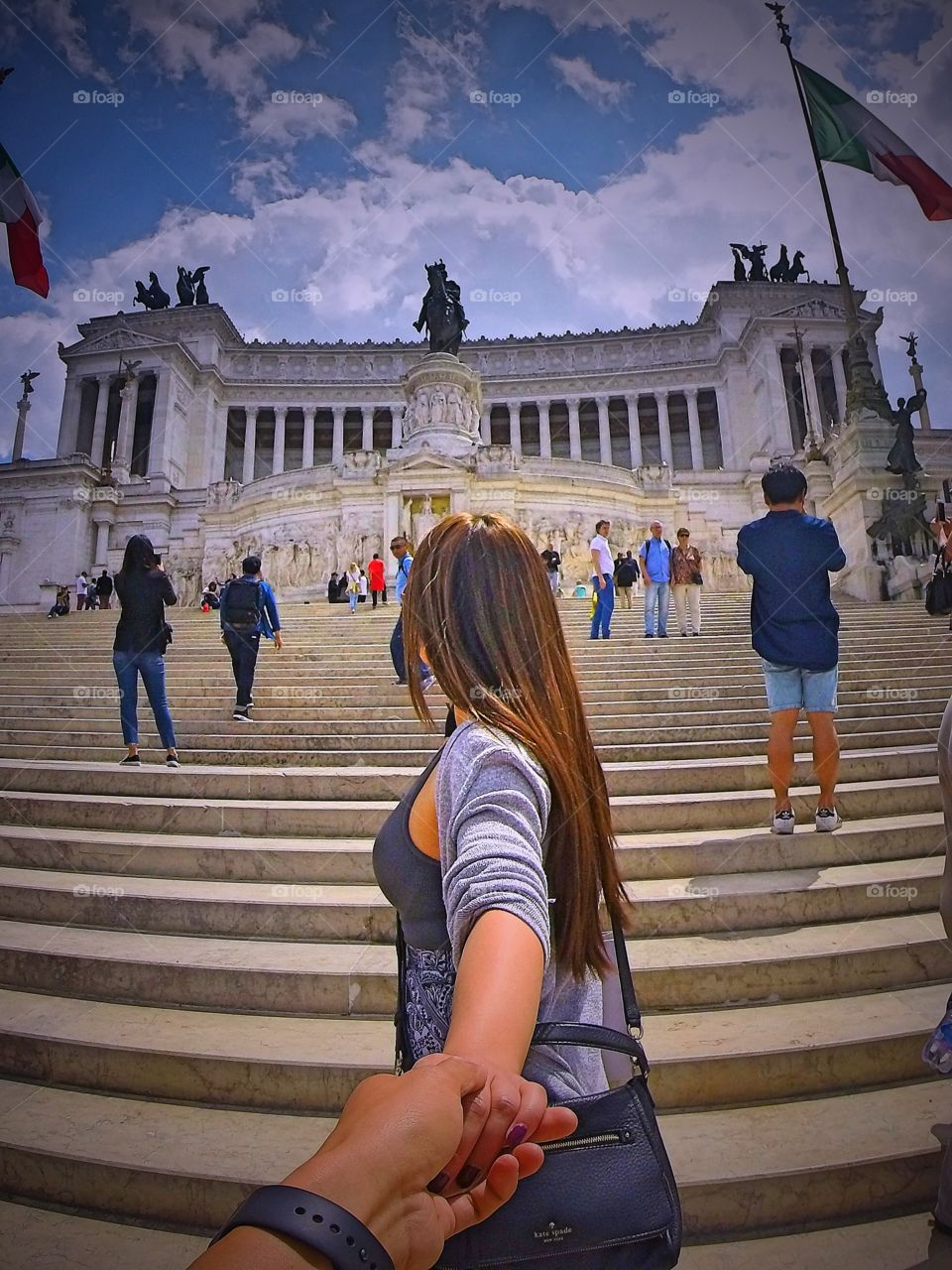 #followmeto the National Monument of Victor Emmanuel II in Roma, Italy