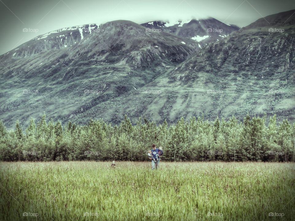 Alaskan Back Yard
