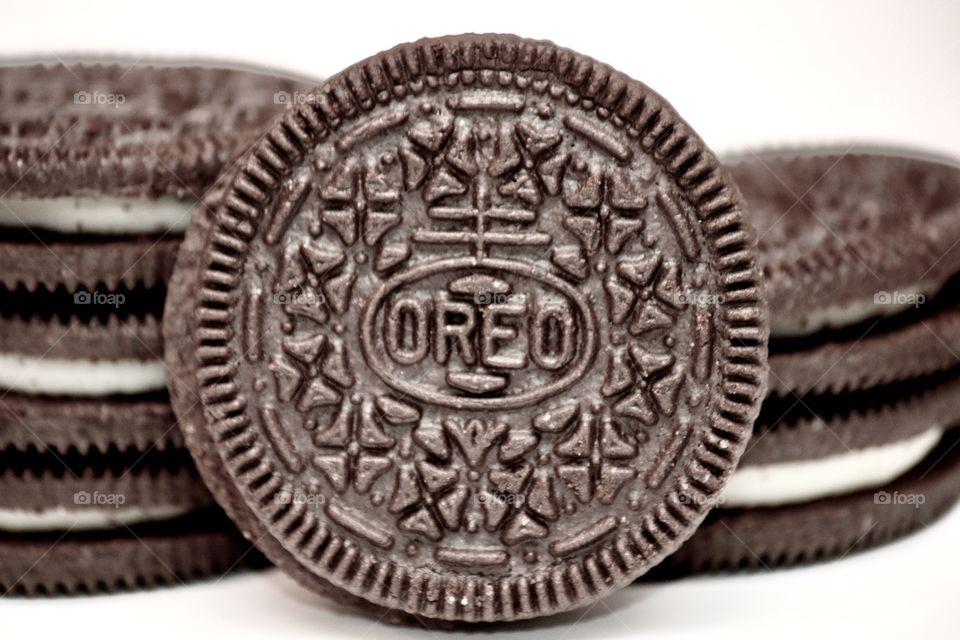Oreo Cookie stacks