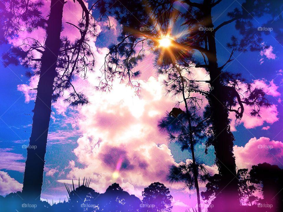 Solar sunsets