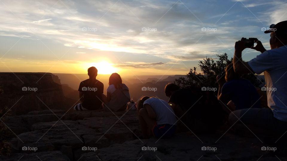 Grand Canyon,  Grand Sunset