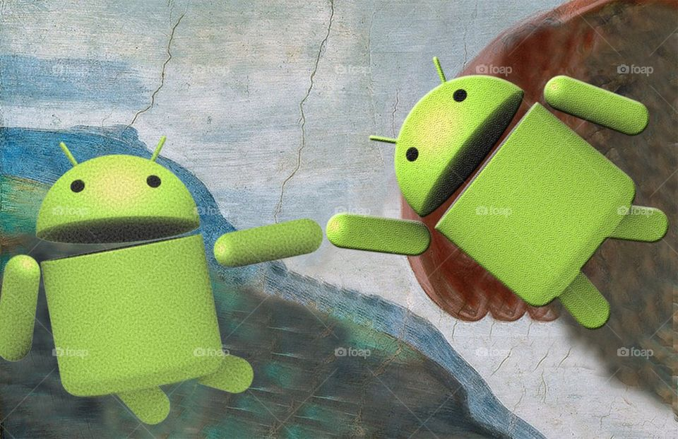 The creation of android