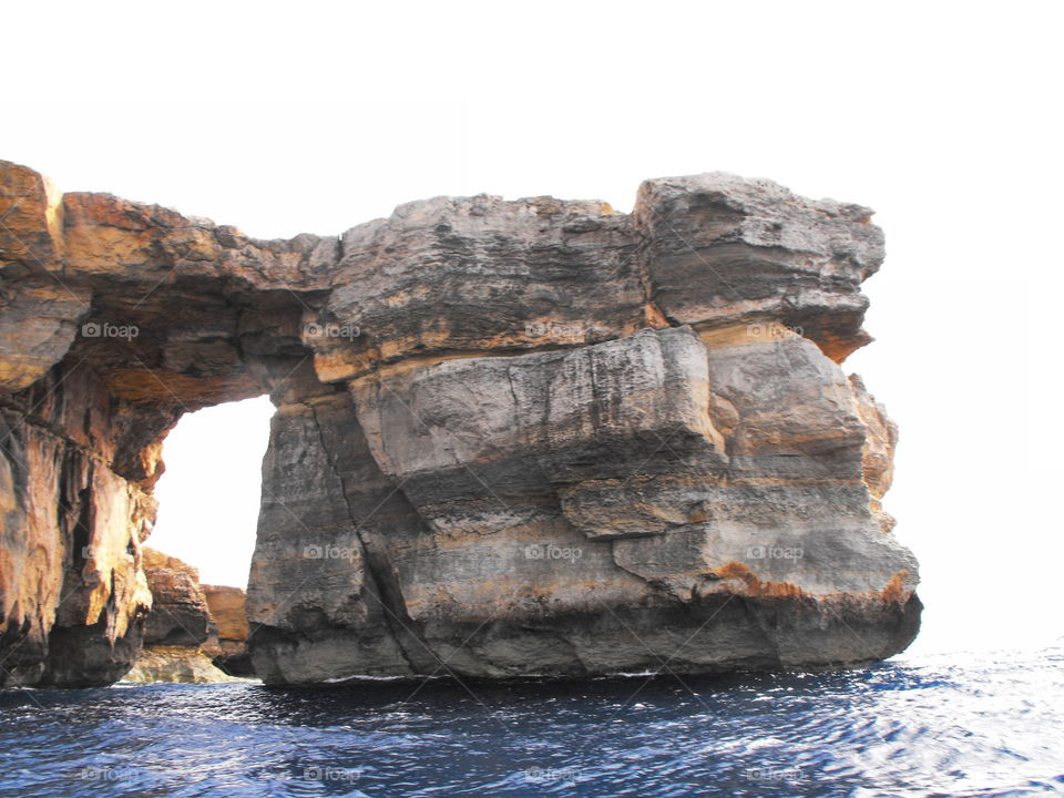 Azure Window, Malta, Gozo which is sadly  no more