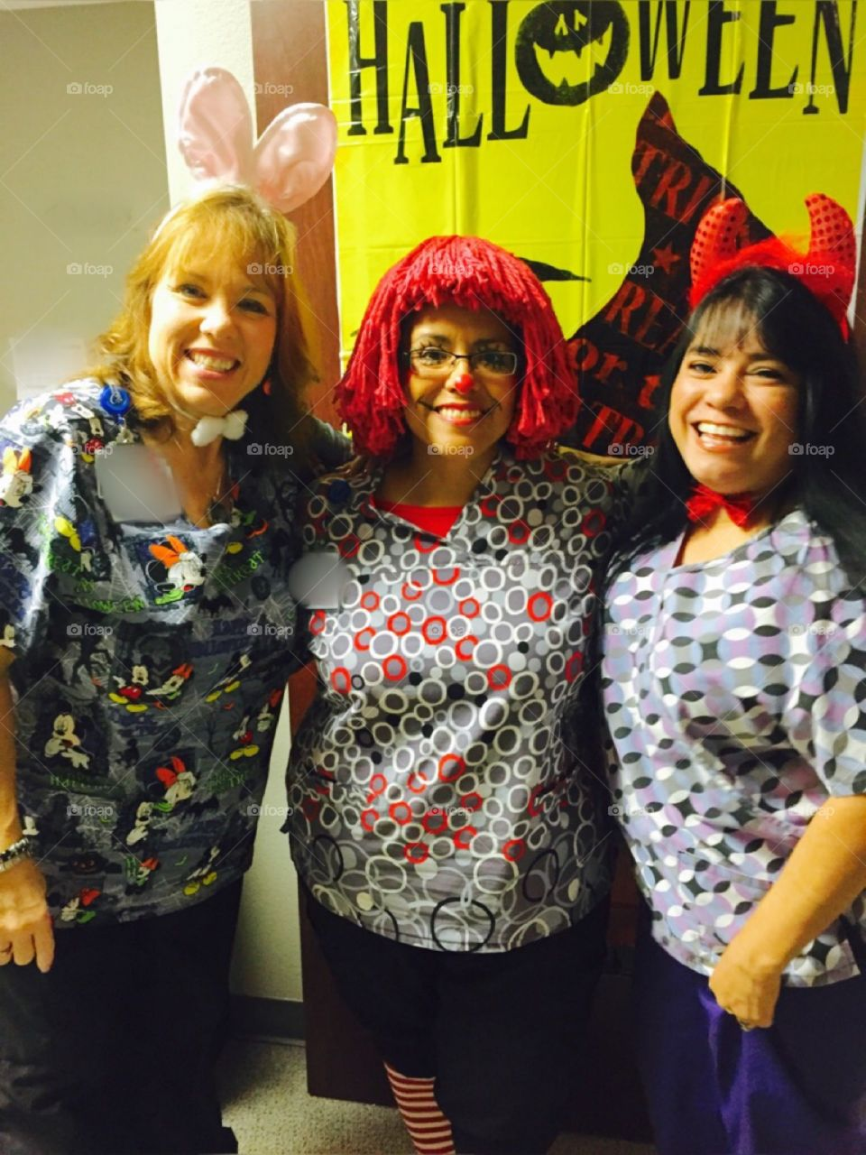 Halloween party at our medical office