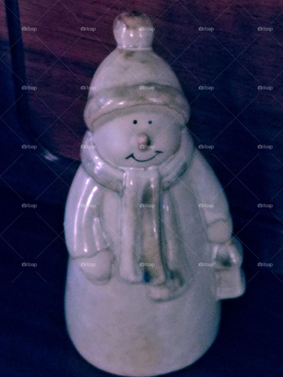 Snowman Decoration.