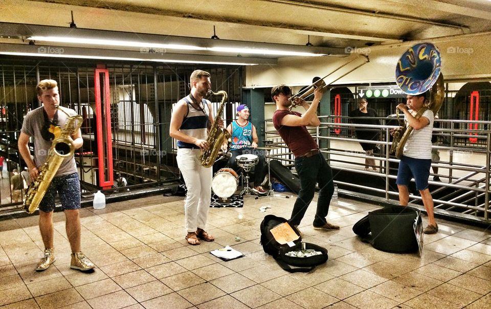 Subway Performers
