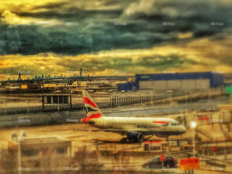 JFK NYC BA View