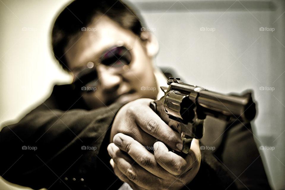 Gunman shooting