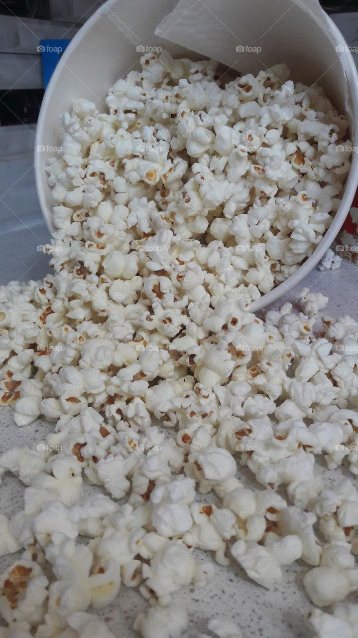 popcorn , movie time