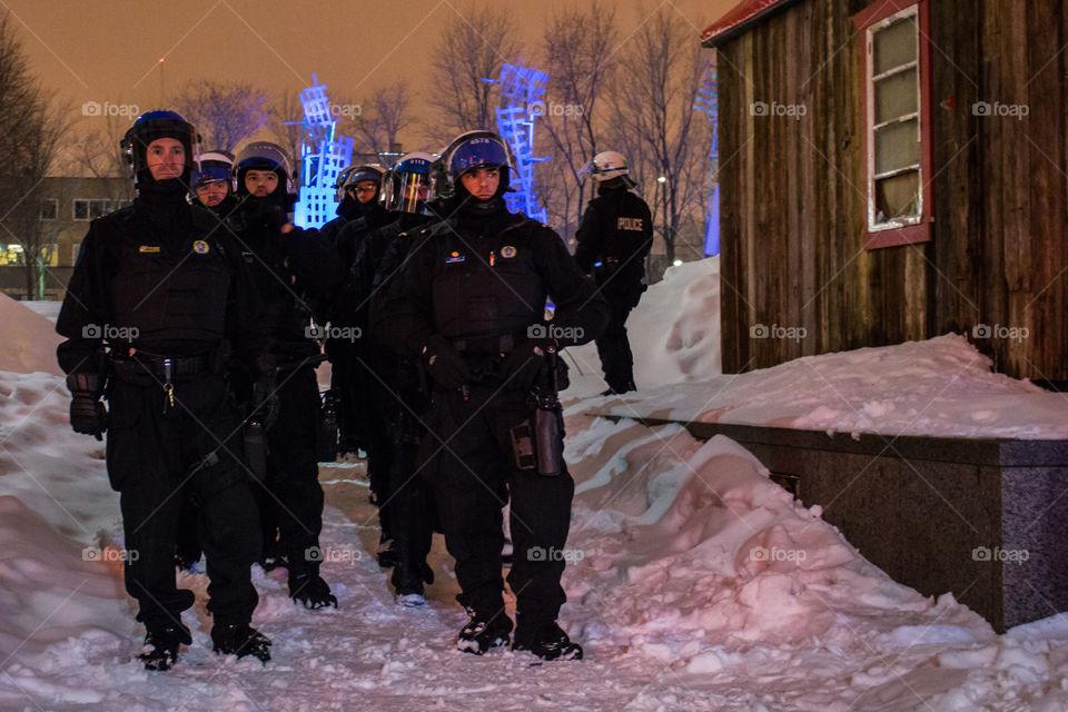 SPVM Montréal Police