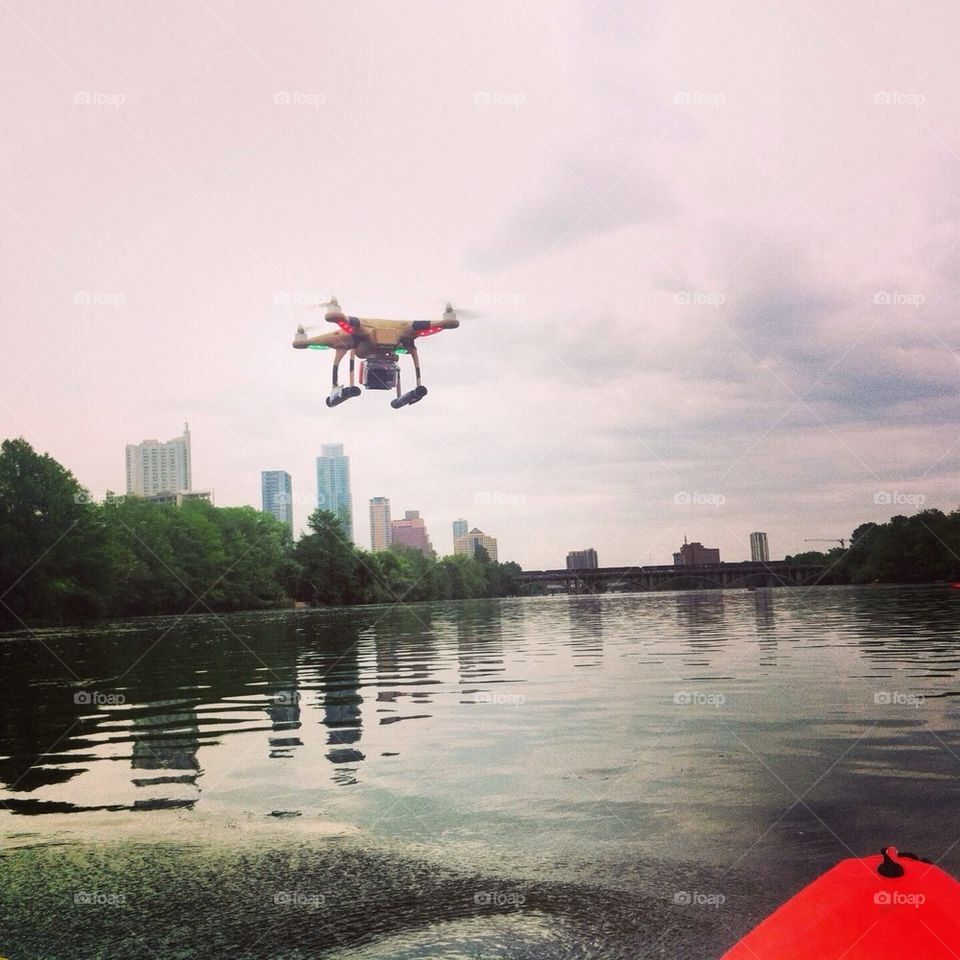 Unmanned Aerial Vehicle on Town Lake