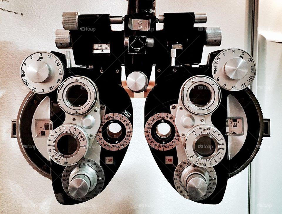 Vision Testing - Phoropter