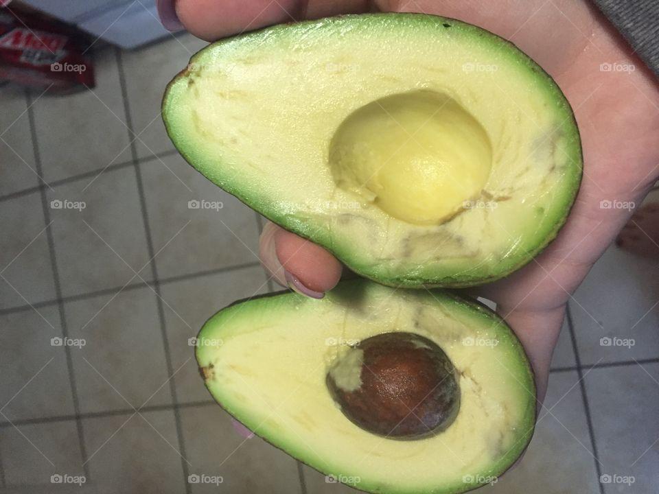 Fruit, Tropical, Food, Healthy, Half