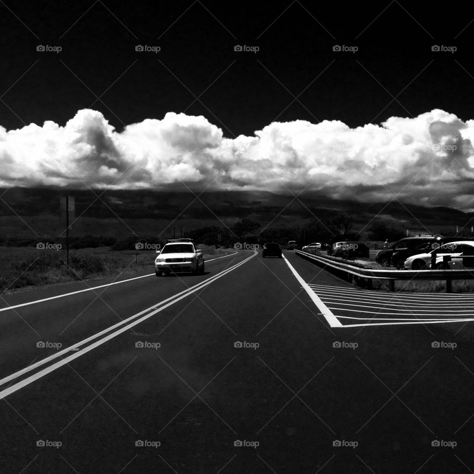 Black and white drive