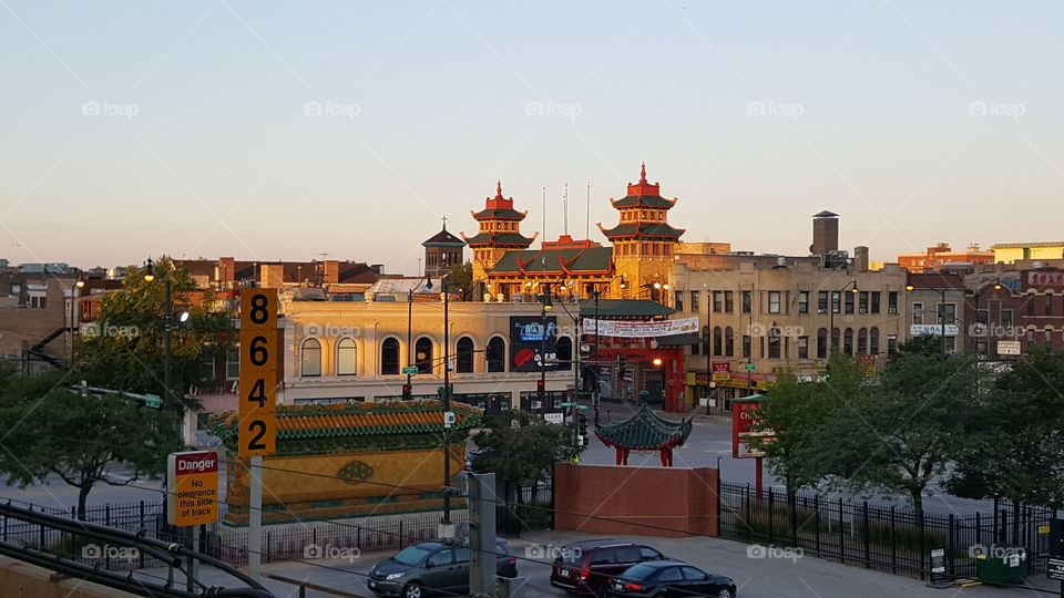 Chinatown from the Redline