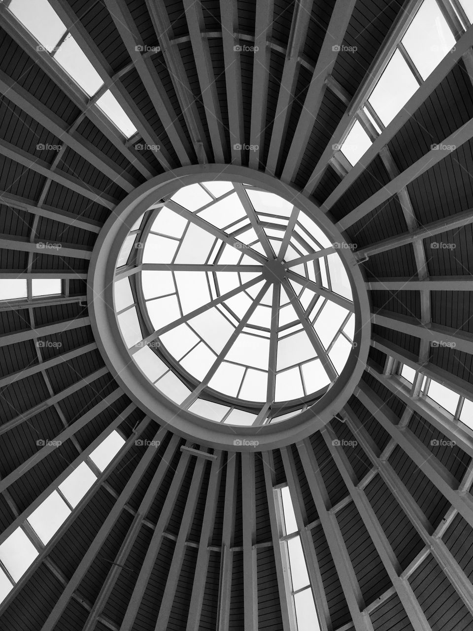 Amazing skylight at a mall in Florida