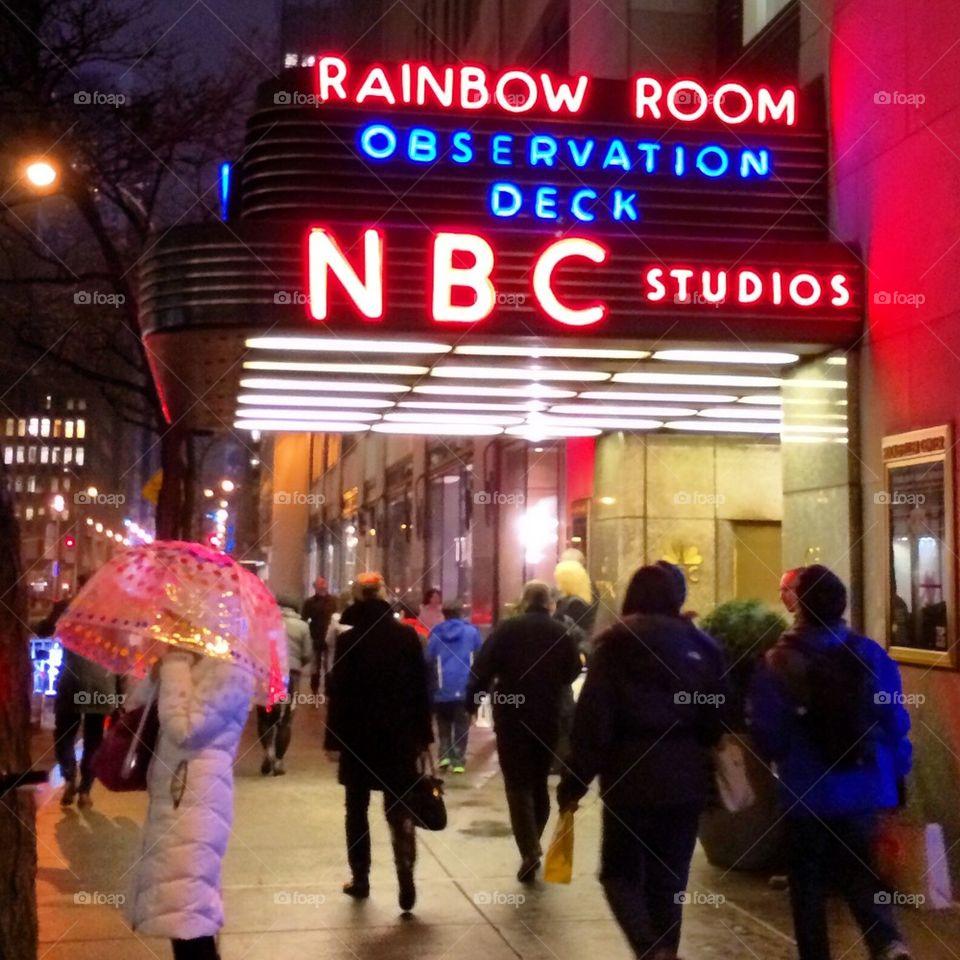 NBC Rockefeller Center Rainbow Room