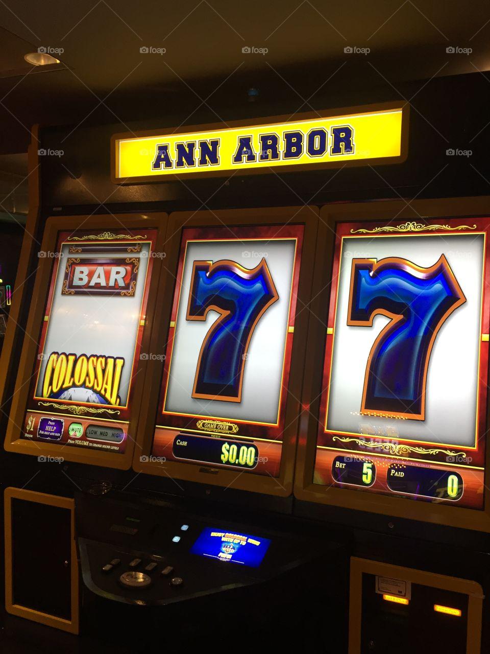 Ann Arbor Michigan in Vegas