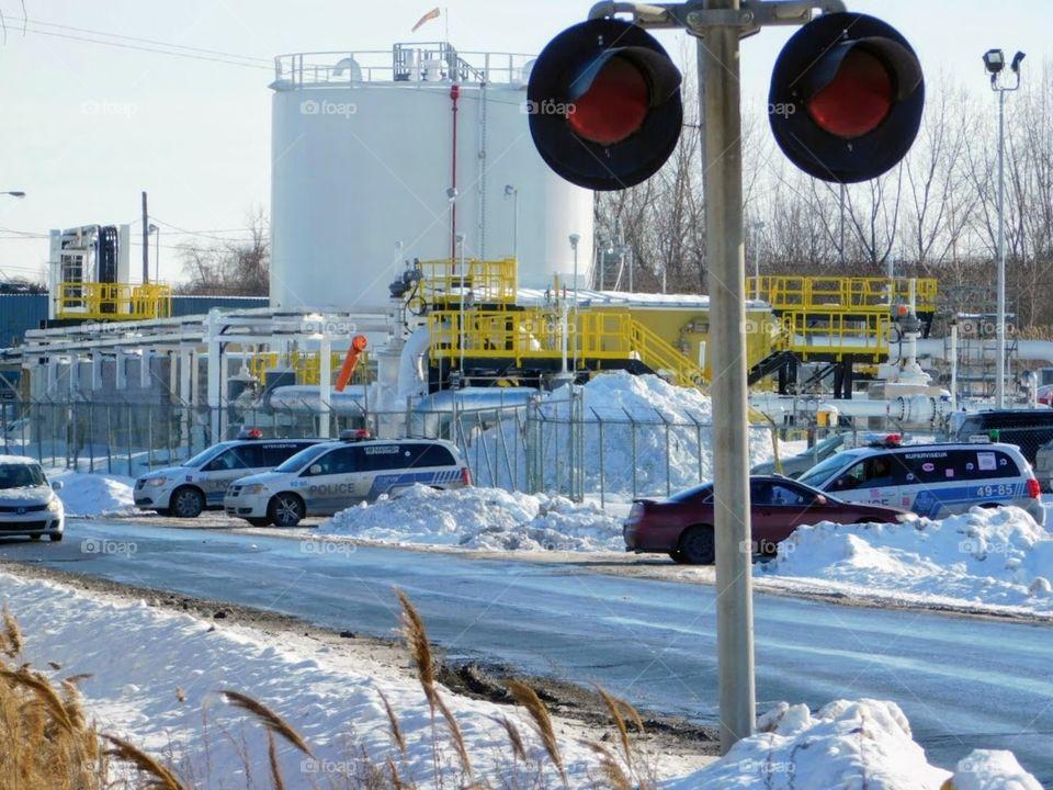Energy East pipeline refinery