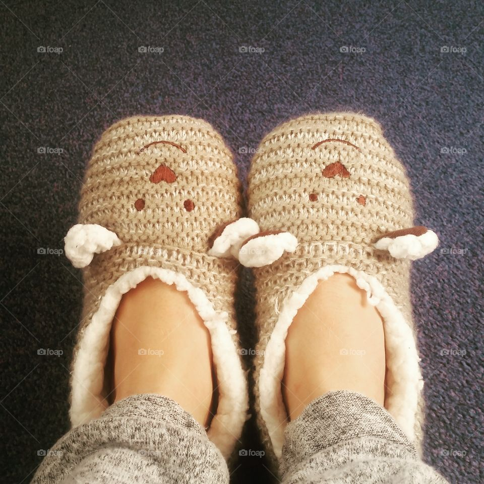 It's A Slipper Kind Of Day 💋