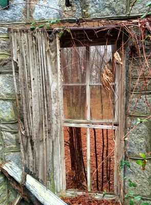 ruined window
